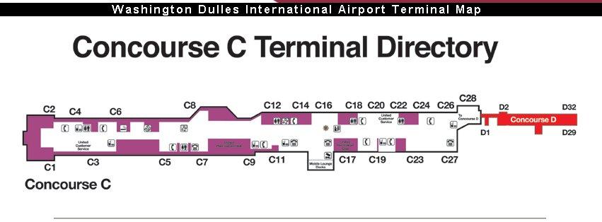 Best Iad Terminal Map 2 Photos - Printable Map - New - bartosandrini.com