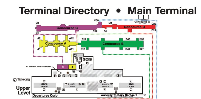 Top Iad Terminal Map Photos - Printable Map - New - bartosandrini.com